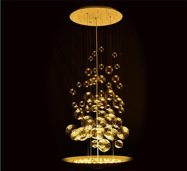 Compre De Burbuja De Lámpara Comedor Estar Para Dormitorio 55 Iluminación Burbujas Claras Suspensión Del Sala Burbuja De Moderna De Hogar Lámparas Cm m8Oynv0PNw