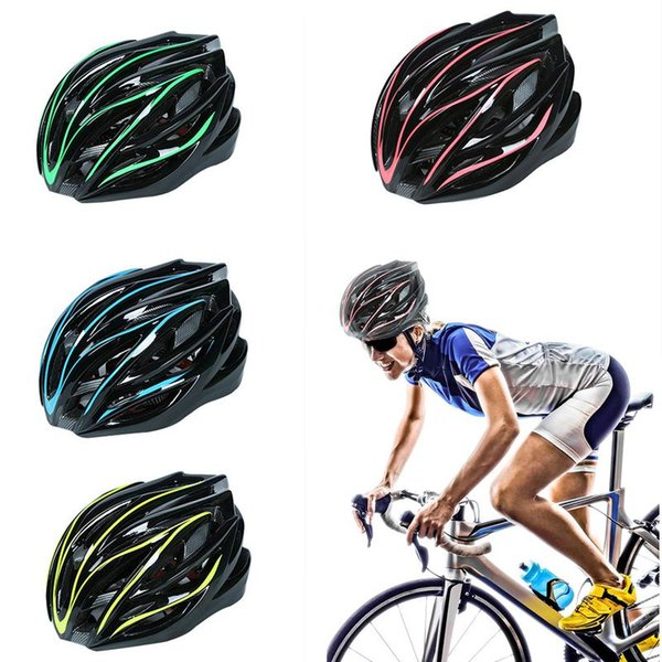 Road Cycling Helmet Ultralight Integrally-Molded Bicycle Helmet Mountain Bike Cycling Men&Women Protected