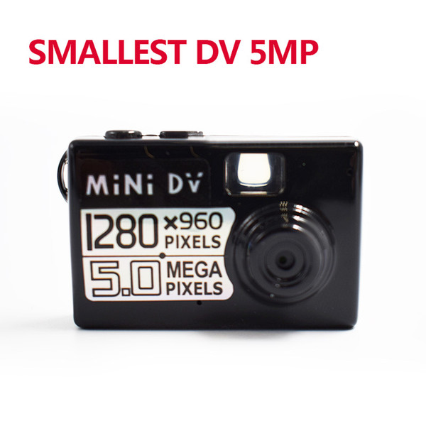 New 5MP HD Smallest Mini DV camcorder Digital Camera Video Recorder Camcorder professional Webcam DVR free delivery