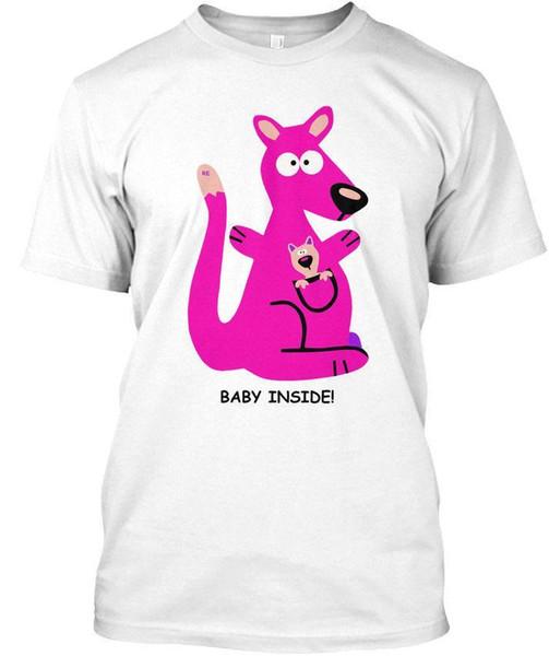 Känguru Baby Känguru Mutter Mutter Kinder Standard Unisex T-Shirt