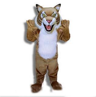 2018 nuevo animal cubs tigre traje de la mascota tamaño adulto personaje de dibujos animados traje de fiesta de carnaval traje de disfraces envío gratis adulto