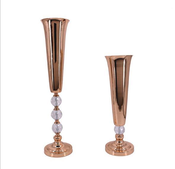 wedding flower vase flower stand Table centerpieces for wedding Party supply tall vases decorative wedding flower arrangement