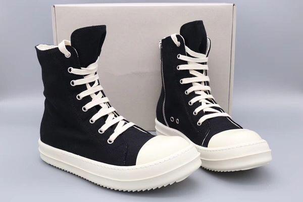 top popular 18ss Original TPU Fragrant sole Earth-Tone Vegan high top canvas sneaker trainer boots 2021