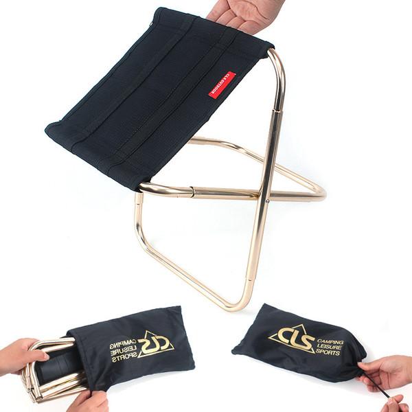 Складной стул для на открытом воздухе кемпинг Рыбалка портативный стулья металлические прочные многофункциональный мини-поезд стул мебель высокого качества 27gt Z