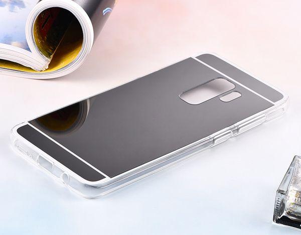 FOR Samsung Galaxy A8 A8 PLUS 2018 A6 A6 PLUS 2018 Xiaomi 8 8 SE REDMI S2 Mirror Case Electroplating Chrome Soft TPU Case Cover