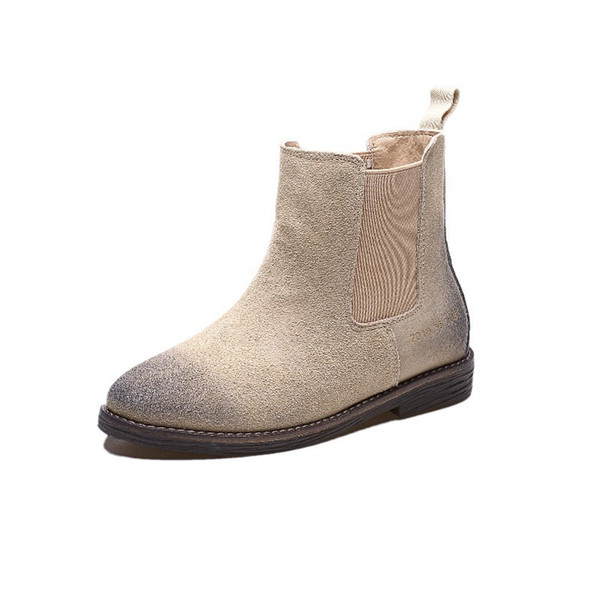 Women's boots thick with 2018 new Joker vintage martin boots women's boots in the wind in spring, autumn and winter