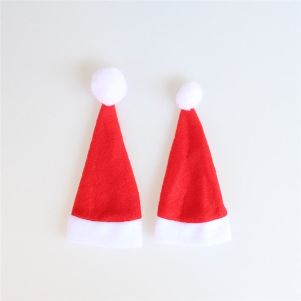 Weihnachtsartikel Weihnachten Couchtisch Wasser Coaster Isolierung Pad Weihnachten Hut Cup Mats Wholesale Freies Verschiffen