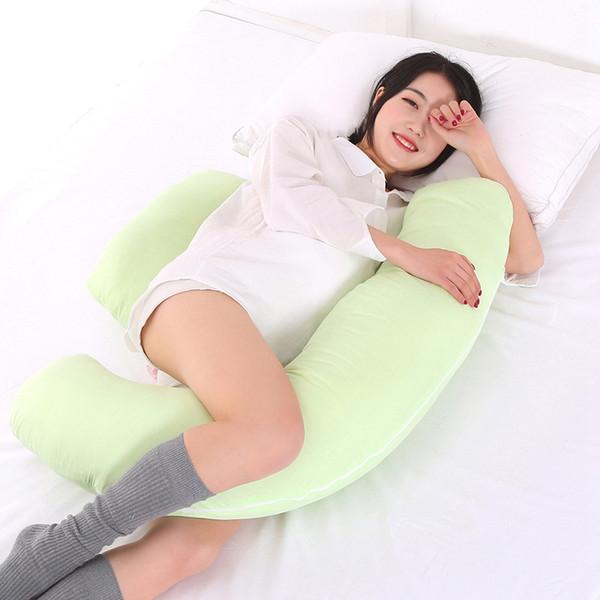 Strange Maternity Pillows Cotton U Pregnant Pillow Protect Waist Leg Fix Sleeping Position Improve Sleep Quality Side Sleepers Pillow Neck Roll Pillows Machost Co Dining Chair Design Ideas Machostcouk