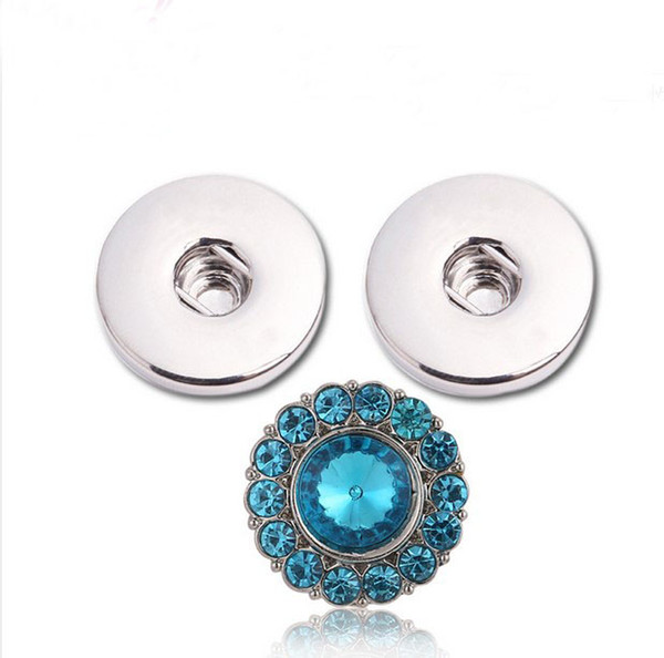 NOOSA Ginger Snap Earring Button 18mm Interchangeable Fashion Jewelry for Women Silver No Pierced Ear Cuff Charm Earring Christmas Gift