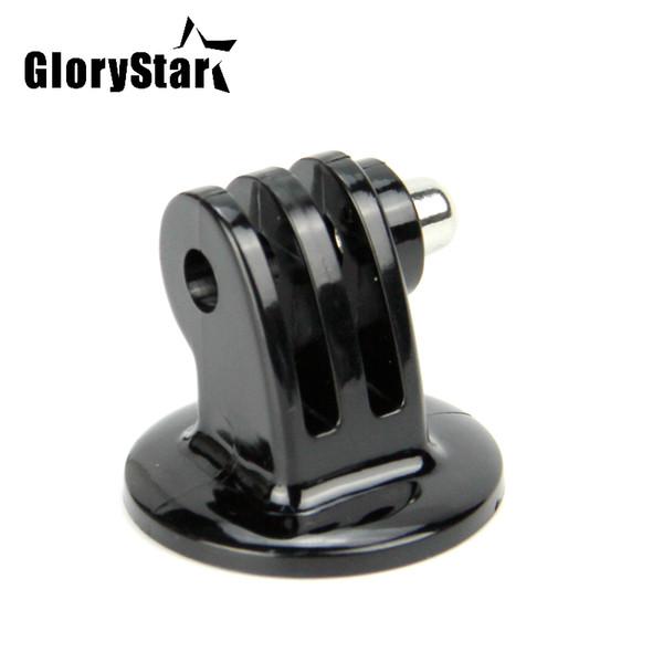 Glorystar para gopro acessórios mini monopé tripé case titular adaptador de montagem para go pro hero 5 4 3 + sj4000 xiaomi yi câmera