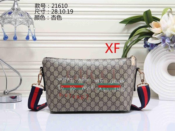 Women's handbag classic small series of fashion hot mom Lady chain bag elegant bulk corrugated woman Leather Shoulder purse handbags bag B05