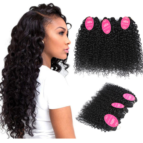 human hair bundles Kinky Curly Real person Hair extension Virgin Hairs Brazilian Virgin Bundles with Closures African rolls with Fronta