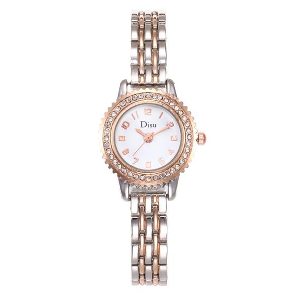 New Fashion Casual Women Bracelet Watch Rose Gold Ladies Wristwatch Diamond Dress Quartz Watch  relogios