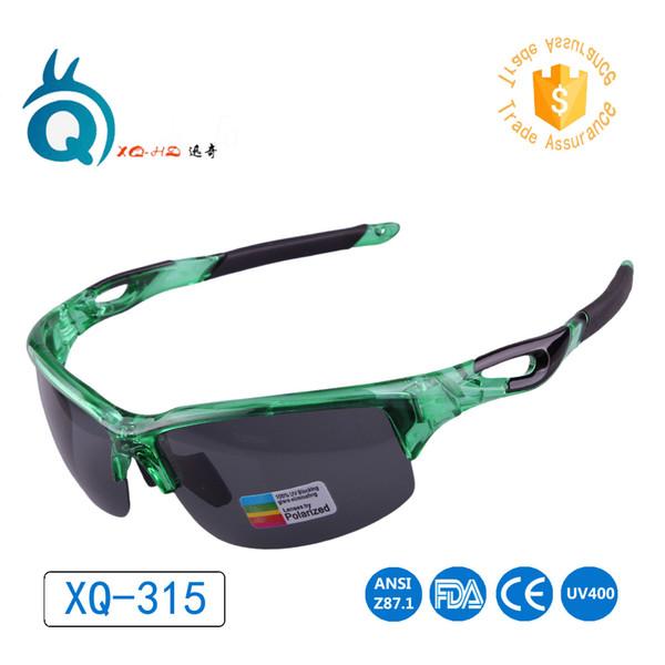 Akıllı iyi görünüm rahat çerçeve Spor yürüyüş gözlük Elastik materal yürüyüş gözlük XQ315