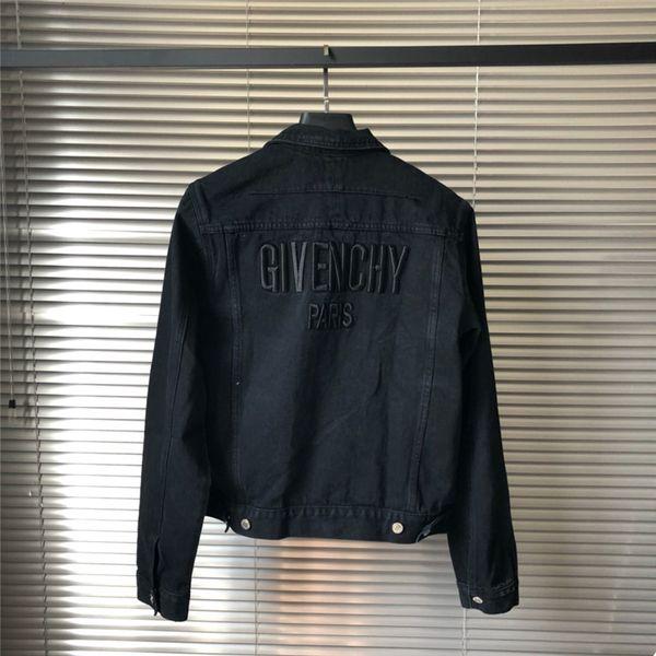Trend Denim Jacken für Männer Designer Jacke Frauen Vintage Style Selvedge Jean Mäntel Mode Marke Kleidung Denim Mäntel