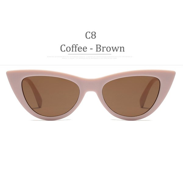 Lente marrone C8 Coffee Frame