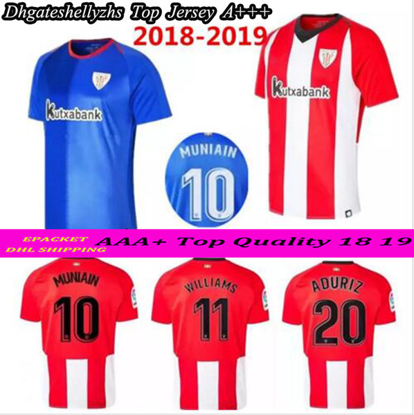 differently 46362 60987 2018 Athletic Club Bilbao Home Soccer Jersey 18 19 Athletic Short Sleeve  Soccer Shirt 2018 2019 Bilbao Football Uniforms Sales From Shellyzhs,  $16.47 ...