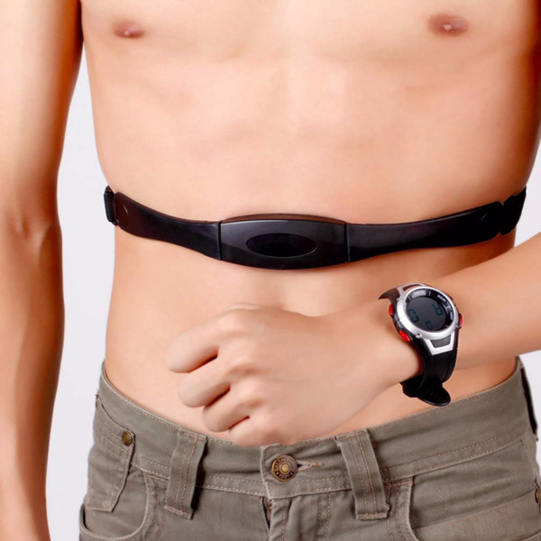 nuevo monitor de pulso cardiaco Sport Fitness reloj favor ciclismo al aire libre deporte impermeable inalámbrico con correa para el pecho