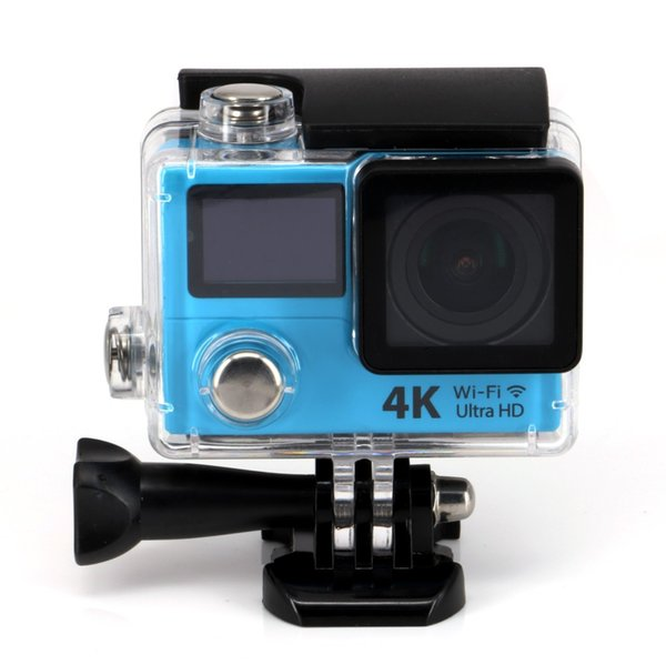 Free Shipping Wholesale 4K 15FPS Action Sports Cam H3R Wifi 2.0 LTPS + 0.95 OLED Screen Recorder Marine Sports Cam 1080P