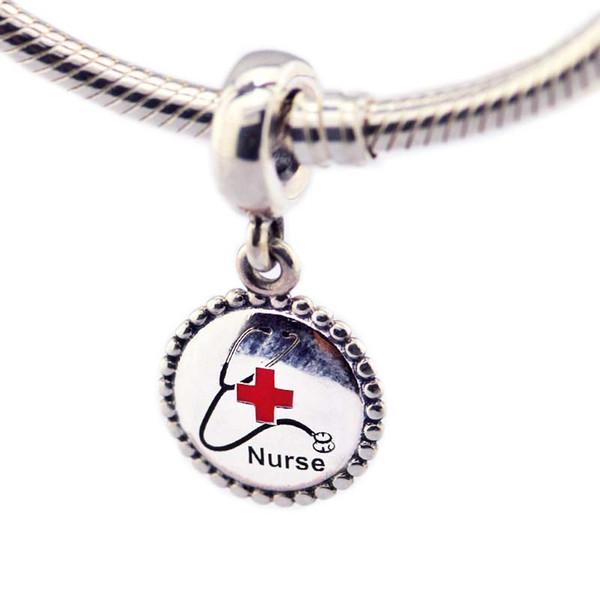 pandora charm infermiera