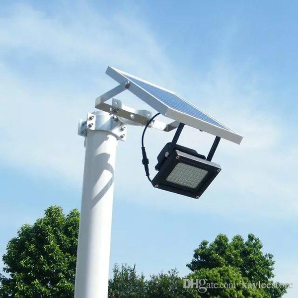 Outdoor Solar Flood Lantern Garden Solar Led Light With 54pcs Led And 6W Solar Panel Hotselling Best Design Factory Price