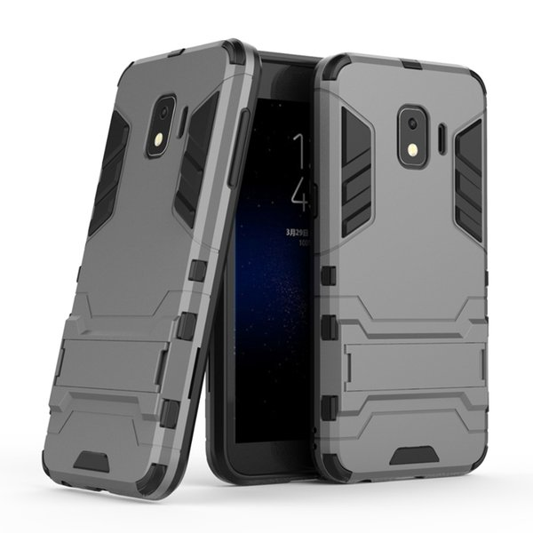 Ironman Defender Cases For Galaxy (J4 J6 Plus J3 J7 Duo J8 Star J2 CORE Pro)2018 C9 Hybrid Hard PC+ TPU Shockproof Layer Rugged 2 in 1 Cover