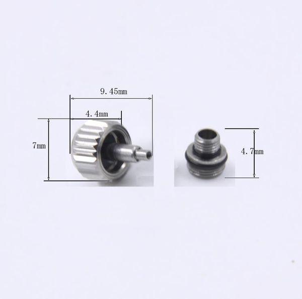 7.00x4.40mm Orologio da polso color argento o oro impermeabile per RLX