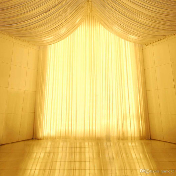 5x7ft Vinyl Wedding Yellow Light Tent Curtain Photography Studio Backdrop Background