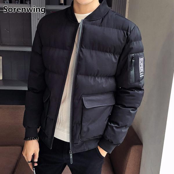 windbreakers for men parkas men winter men's fashion hip hop jackets and coats casual brand outwear overcoat abrigo hombre 234
