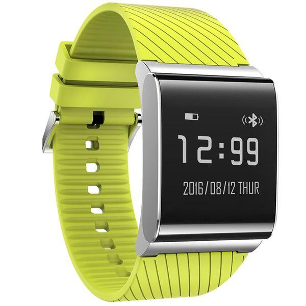 X9 Artı Akıllı İzle Lüks Kare Spor Monitör Su Geçirmez Kan Basıncı Spor Dijital Saat Elektronik Saatler Erkekler Relogios