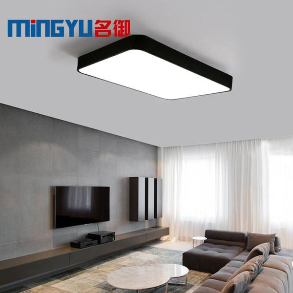Großhandel LED Deckenleuchte Moderne Lampe Panel Wohnzimmer Platz Leuchte  Schlafzimmer Küche Halle Oberflächenmontage Flush Fernbedienung Von ...