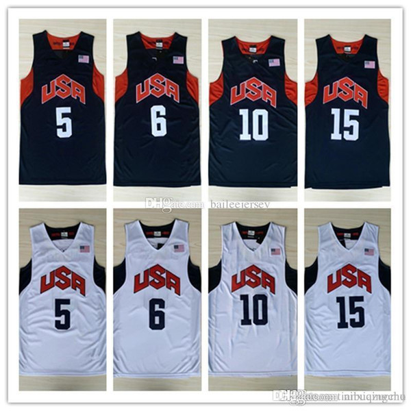 online retailer 65cbd 13384 2018 2012 Dream Team London Olympic Games Jersey #10 Bryant #6 Lebron James  Usa Jerseys Stitched Size S Xxl From Zhengxianhui, $15.66   Dhgate.Com