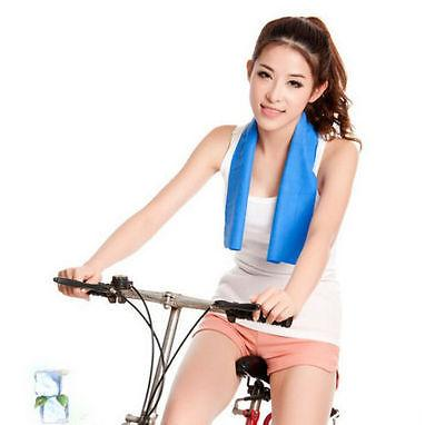 Instant Cooling Sports Towel Ice Cold Enduring Footing Cold Gym Pad