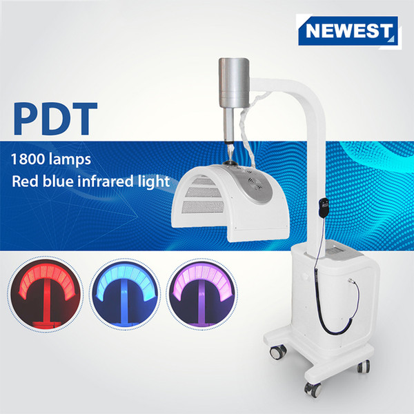 HOT SALE !!! LED PDT Bio-light Therapy Facial Beauty PDT Machine Light Therapy Beauty Device For Salon Use CE/DHL
