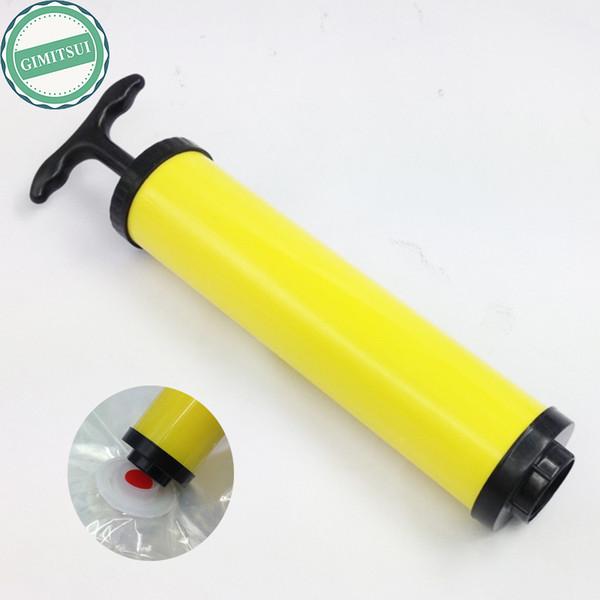 Air Vacuum Compressed Organizer Bag Space Saver Saving Storage Seal Bag Hanger Hand Pump Manual Compression