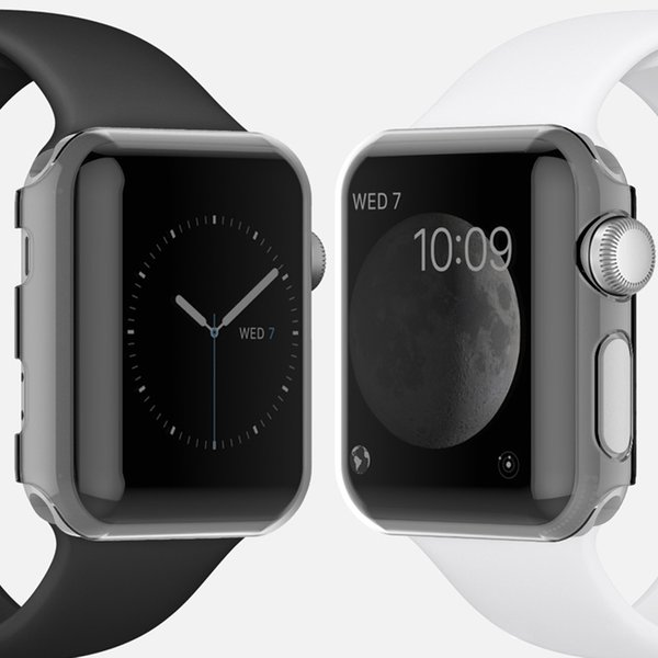 For Apple Watch 4 Transparent Cases Smart Accessories Protective Case Apple Watch 3 Ultra Thin Clear Pc Back Cover Case