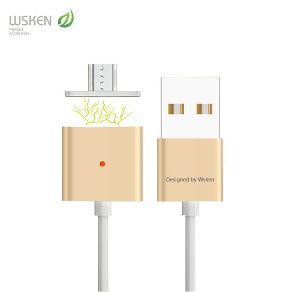 wholesale Micro USB Magnetic Charging Cable For Samsung Xiaomi HTC LG Micro USB Ports Magnet Mobile Phone Cable Android Universal