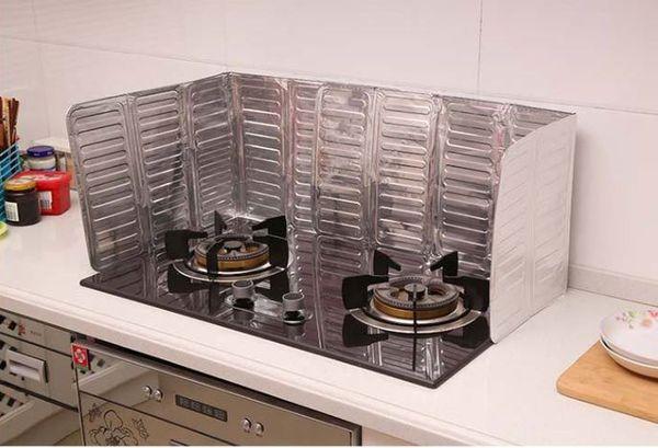 Großhandel Küche Öl Spritzschutz Gasherd Herd Ölentfernung  Verbrühungssicher Bord Küche Zu Jeder Öl Schallwand Aluminiumfolie Teller  H137 Von ...