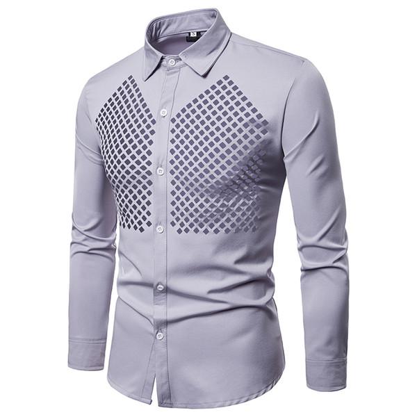 qualité-supérieure la vente de chaussures aspect esthétique 2018 New Design Hollow Out Men Dress Shirts Long Sleeve Dress Party Stage  Chemise Homme Slim Fit Camisas Social Masculinas From Manxinxin, $33.19    ...
