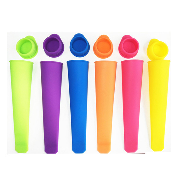 top popular M size 15CM ice cube maker Ice Cream Popsicle Molds Cooking Tools Rectangle Shaped Reusable DIY Frozen Ice Cream Pop Baking Moulds 2019