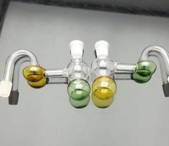 Colore filtro zucca pentola Bong all'ingrosso Bruciatore a olio Tubi Tubi d'acqua Tubo di vetro Oil Rig Fumare,