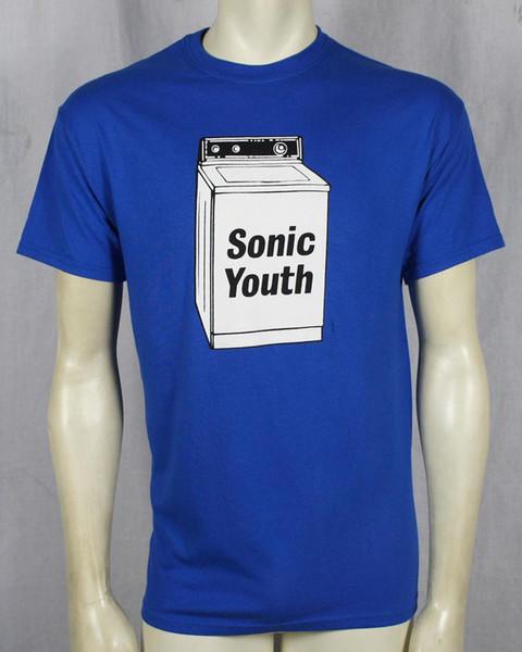 Authentic SONIC YOUTH Washing Machine Logo T-SHIRT S M L XL NEW