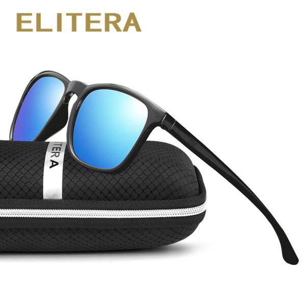 Gafas de sol retro unisex de la marca ELITERA Lentes polarizadas Accesorios  de gafas vintage Gafas 974ae66edfaa