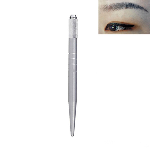 eyebrow stnecil kit makeup pen 3D manual tattoo eyebrow machine PDC needles acupuncture free shipping