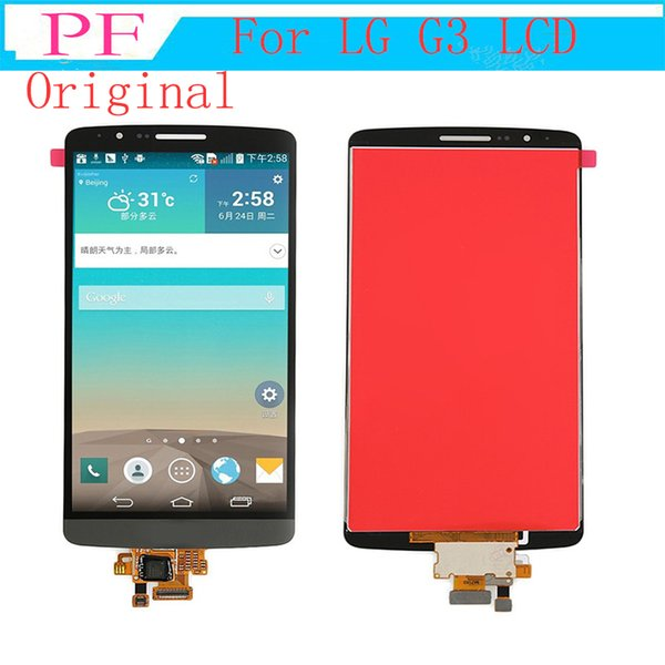 5.0 inch Original LCD Display For LG G3 D850 D851 D855 VS985 LS990 LCD Display + Touch Digitizer Screen Assembly