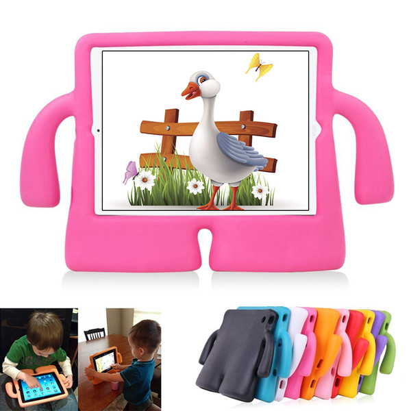 Funda para iPad Mini para niños, cubierta a prueba de golpes a prueba de golpes para iPad con Kickstand Kids Safety Funda protectora para iPad Mini 1/2/3/4