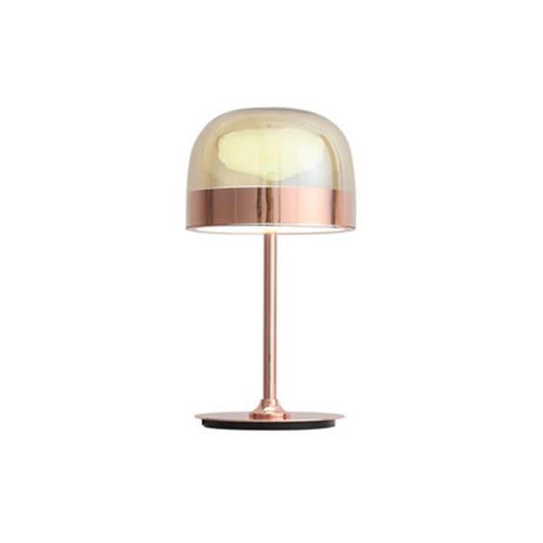 Modern Designer glass Table Lamp Steel Creative Table Light Home Lighting For Bedroom Living Room Study Home Decor F027