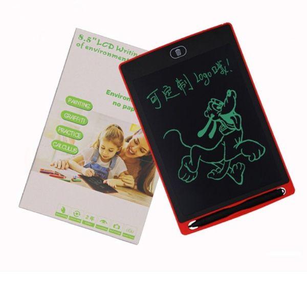 8,5 zoll LCD Schreibplatte Handschrift Pad Digitalen Reißbrett Grafiken Papierlose Notizblock Bildschirm Klar Funktion Mit Verbesserten Stift DHL