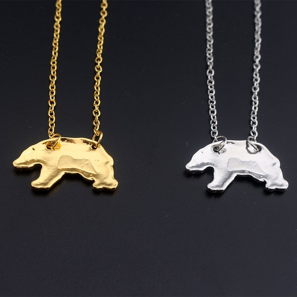 SAVORI Wholesale Jewelry Mama BEAR Bear Necklace Pendant Company Party Small Gift Pendant for Women Men Fans Jewelry Gifts