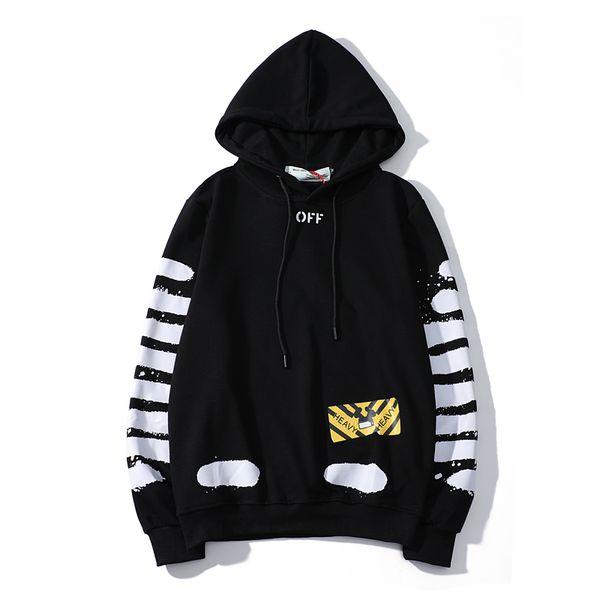 Men 039 white pullover hoodie weat hirt fa hion de igner for men ca ual weater coat popular brand hoodie fa hion ca ual, Black